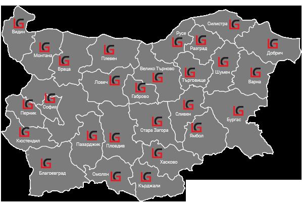 Карта на покритие